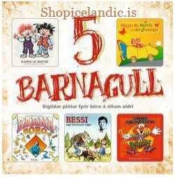 Icelandic sweaters and products - 5 Barnagull (5CD) CD - NordicStore