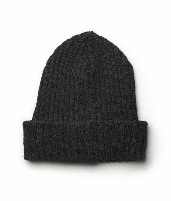 Icelandic sweaters and products - Wool Hat Black Wool Accessories - NordicStore