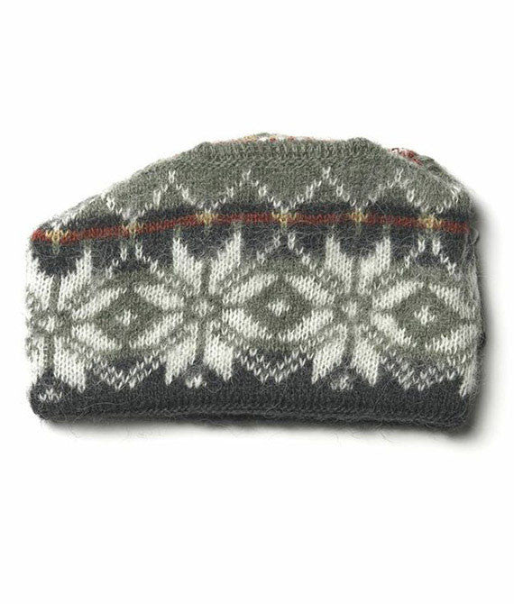 Icelandic sweaters and products - Brushed Norwegian Wool Hat Green Wool Accessories - NordicStore