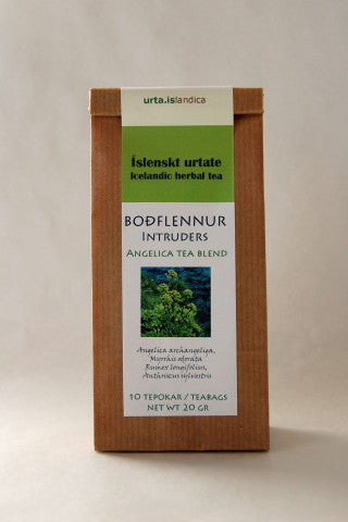 Icelandic sweaters and products - Flu Tea - Angelica Blend - Herbal Tea Tea - NordicStore