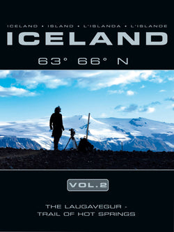 Icelandic sweaters and products - Island 63° 66° N Laugarvegur vol. 2 DVD DVD - NordicStore