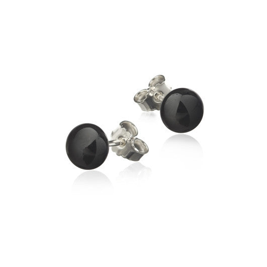 Icelandic sweaters and products - Black lava pearl earrings Jewelry - NordicStore