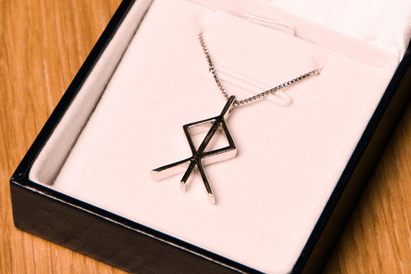 Icelandic Products Aries Zodiac Rune Jewelry - NordicStore