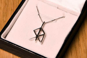 Icelandic sweaters and products - Aquarius Zodiac Rune Jewelry - NordicStore