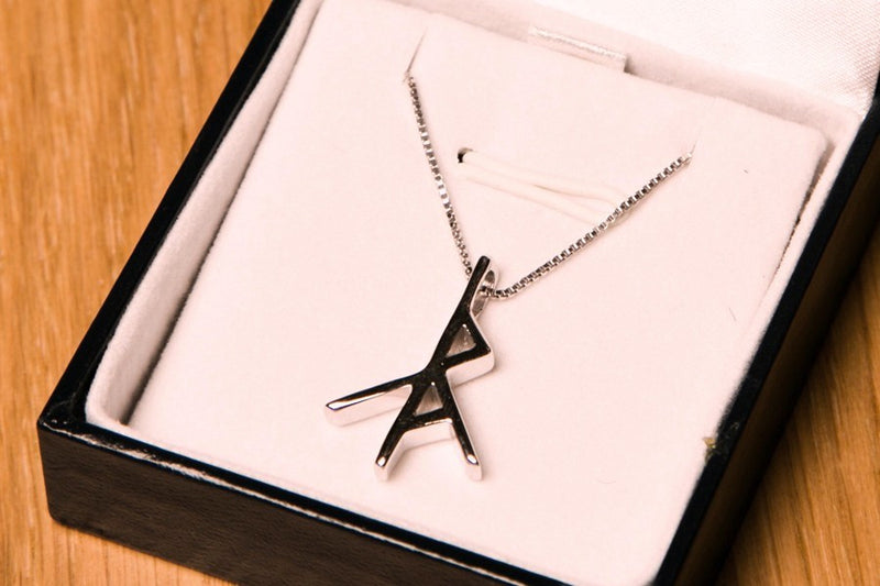 Icelandic sweaters and products - Libra Zodiac Rune Jewelry - NordicStore