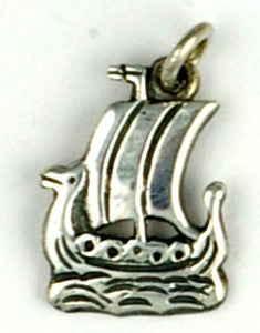 - Icelandic Small Viking Ship. - Jewelry - Nordic Store Icelandic Wool Sweaters