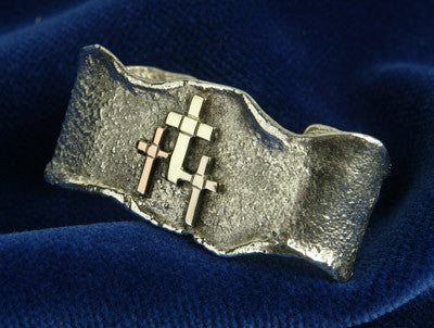 Icelandic sweaters and products - Golden Trinity Brooch Jewelry - NordicStore