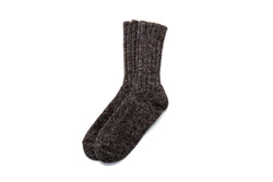 Classic Adult Wool Socks Brown