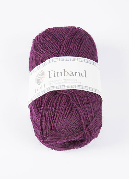 Icelandic sweaters and products - Einband 9020 Wool Yarn - Dark Wine Einband Wool Yarn - NordicStore