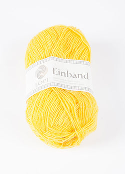 Icelandic sweaters and products - Einband 9028 - Citron Einband Wool Yarn - NordicStore