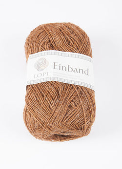 Icelandic sweaters and products - Einband 9076 Wool Yarn - Brown Heather Einband Wool Yarn - NordicStore