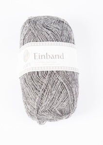 Icelandic sweaters and products - Einband 9102 Wool Yarn - Grey Heather Einband Wool Yarn - NordicStore