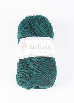 Icelandic sweaters and products - Einband 9112 Wool Yarn - Dark Green Einband Wool Yarn - NordicStore