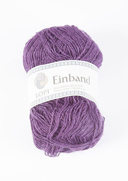 Icelandic sweaters and products - Einband 9132 Wool Yarn - Plum Einband Wool Yarn - NordicStore