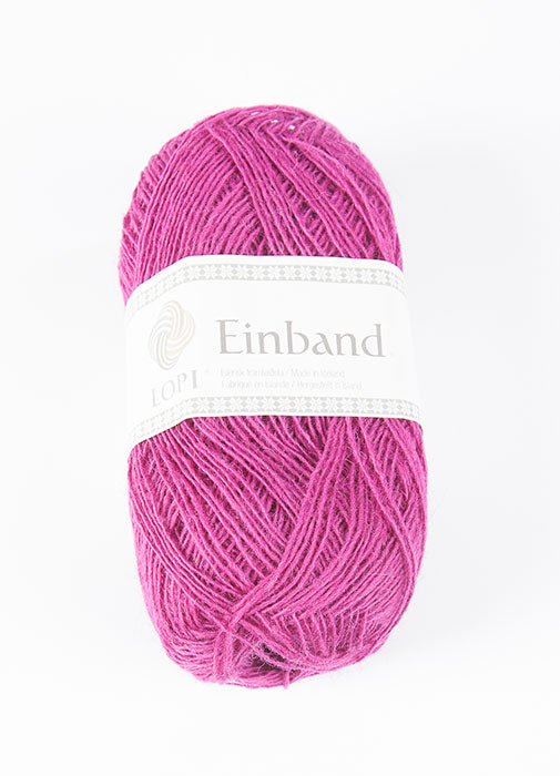 Icelandic sweaters and products - Einband 9142 Wool Yarn - Fuchsia Einband Wool Yarn - NordicStore
