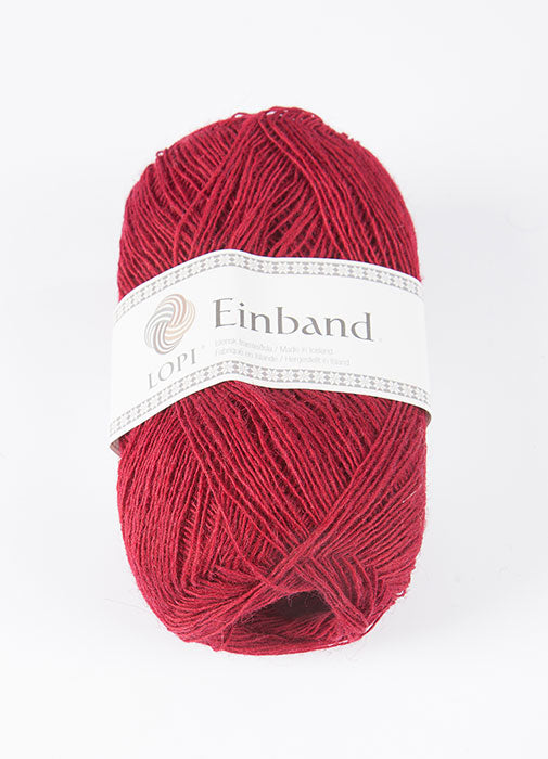 Icelandic sweaters and products - Einband 9165 Wool Yarn - Brick Einband Wool Yarn - NordicStore