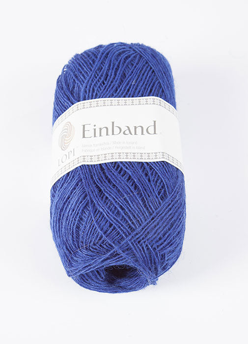 Icelandic sweaters and products - Einband 9277 - Royal Blue Einband Wool Yarn - NordicStore