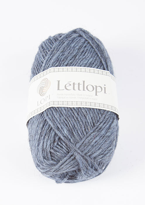 Icelandic sweaters and products - Lett Lopi 9418 - stone blue heather Lett Lopi Wool Yarn - NordicStore