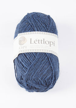 Icelandic sweaters and products - Lett Lopi 9419 - ocean blue Lett Lopi Wool Yarn - NordicStore