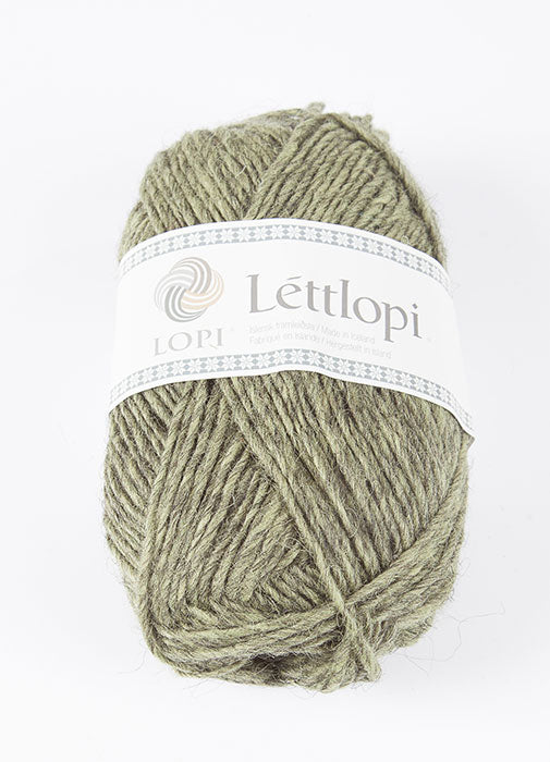 Icelandic sweaters and products - Lett Lopi 9421 - celery green heather Lett Lopi Wool Yarn - NordicStore