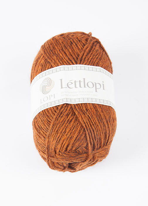 Icelandic sweaters and products - Lett Lopi 9427 - rust heather Lett Lopi Wool Yarn - NordicStore