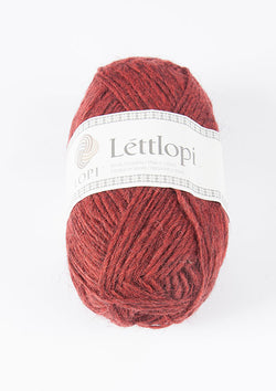 Icelandic sweaters and products - Lett Lopi 9431 - brick heather Lett Lopi Wool Yarn - NordicStore