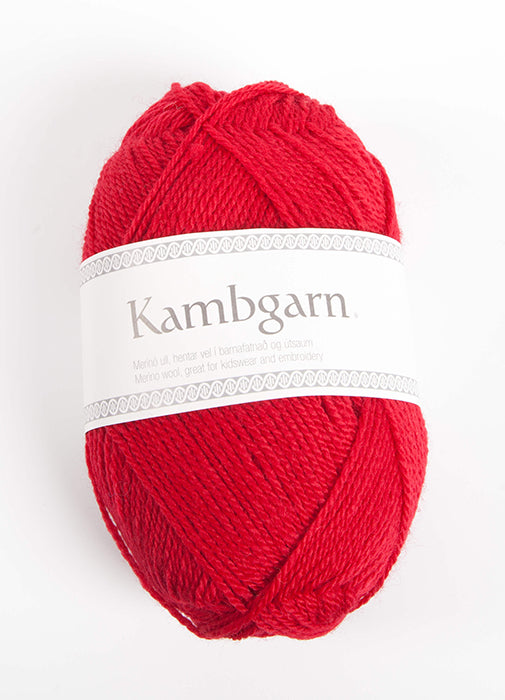Icelandic sweaters and products - Kambgarn - 9664 Strawberry Kambgarn Wool Yarn - NordicStore