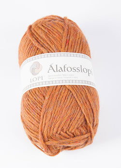 Icelandic sweaters and products - Alafoss Lopi 9971 - amber heather Alafoss Wool Yarn - NordicStore