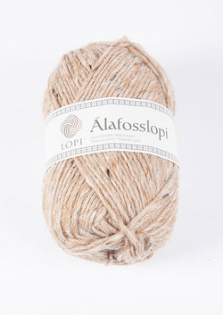 Icelandic sweaters and products - Alafoss Lopi 9976 - beige tweed Alafoss Wool Yarn - NordicStore