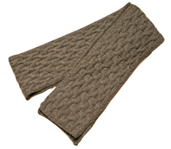 Icelandic sweaters and products - ARN Long Scarf - Grey Wool Accessories - NordicStore