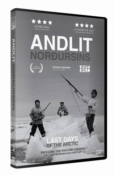 Icelandic sweaters and products - Andlit norðursins - The Last Days of the Arctic (DVD) DVD - NordicStore