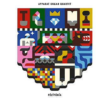 Icelandic Products Apparat Organ Quartet - Polyfonia (CD) CD - NordicStore