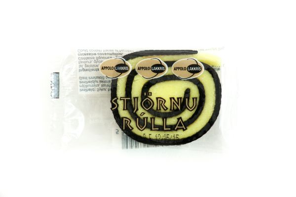 Icelandic sweaters and products - Appolo Liquorice Star Rolles (35gr) Candy - NordicStore