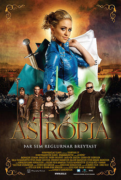Icelandic sweaters and products - Astrópía (DVD) DVD - NordicStore