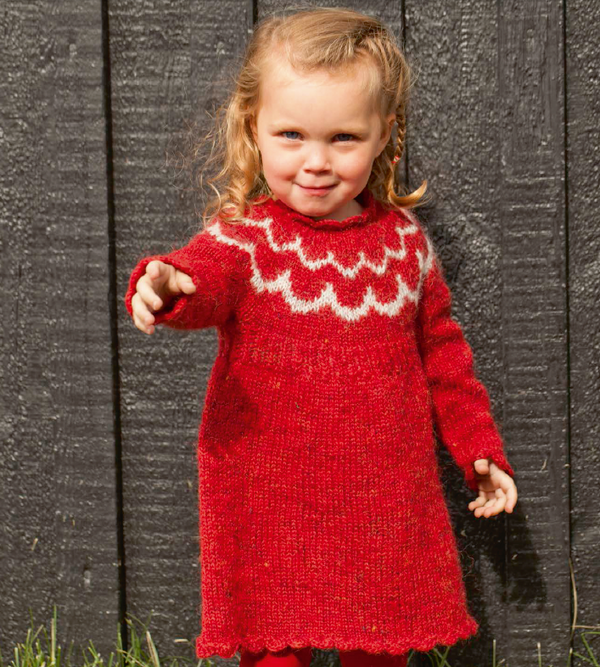 Icelandic sweaters and products - Bara - knitting kit Wool Knitting Kit - NordicStore
