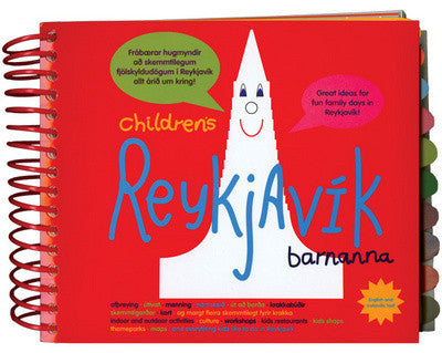 Icelandic sweaters and products - Childrens Reykjavik Book - NordicStore