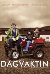 Icelandic sweaters and products - Dagvaktin - The Day Shift (DVD) DVD - NordicStore