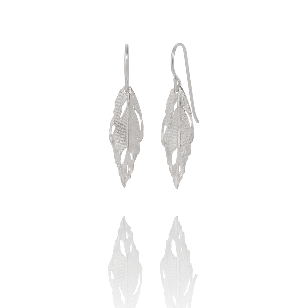 Aurum Silver Falcon Earrings (Falcon 102)