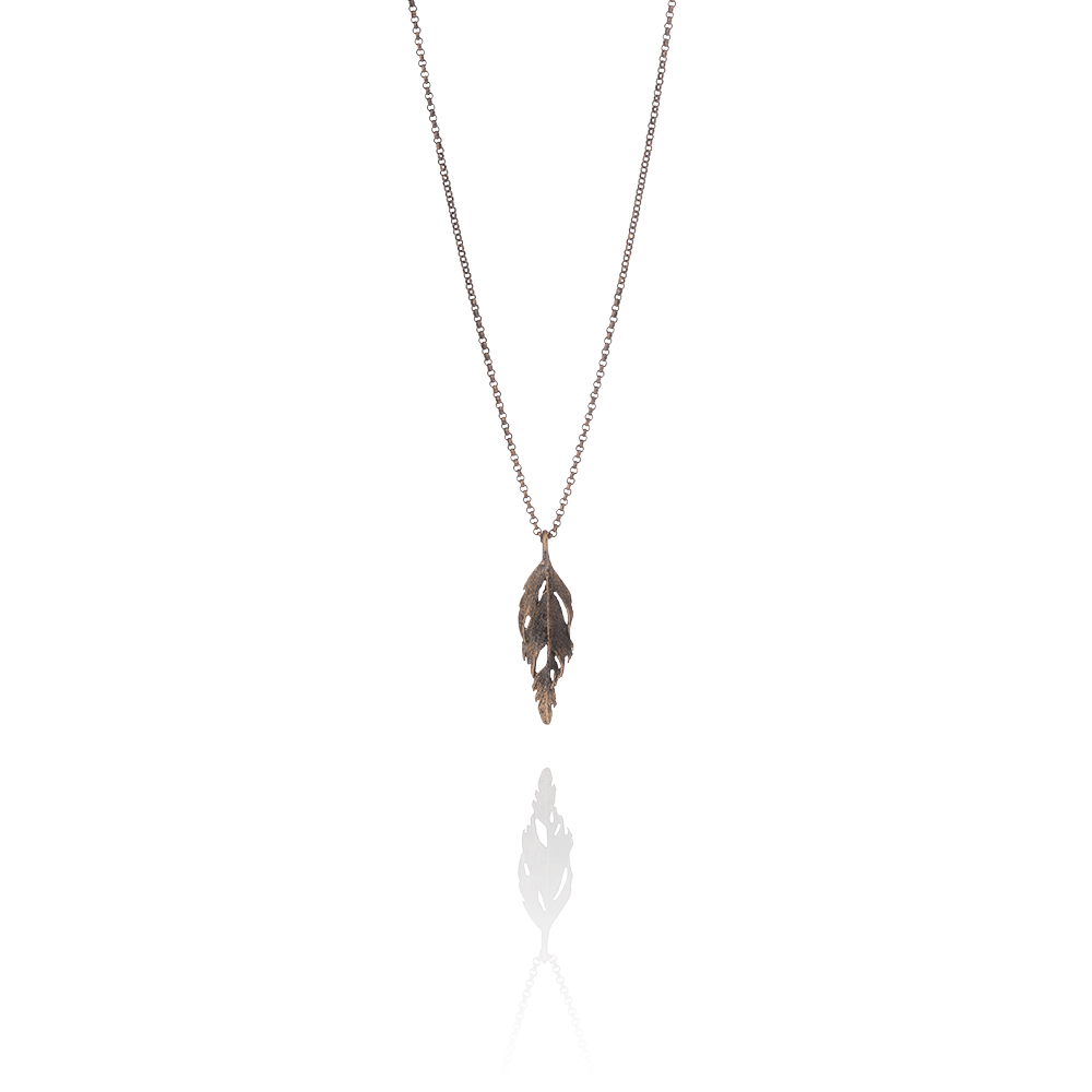 Icelandic sweaters and products - Aurum Bronze Falcon Necklace (Falcon 205 BR) Jewelry - NordicStore