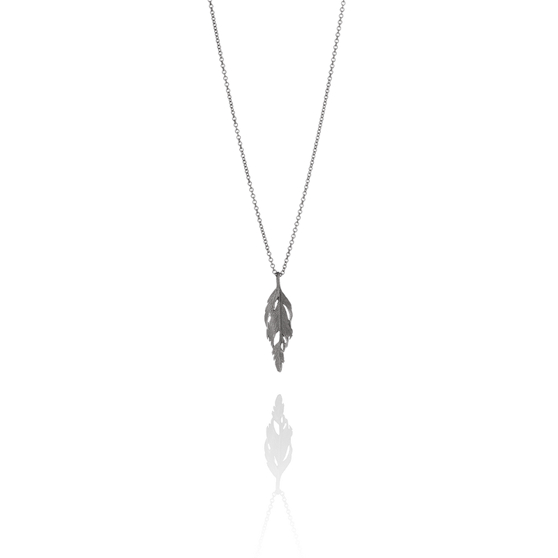 Icelandic sweaters and products - Aurum Oxidized Silver Falcon Necklace (Falcon 205 OX) Jewelry - NordicStore