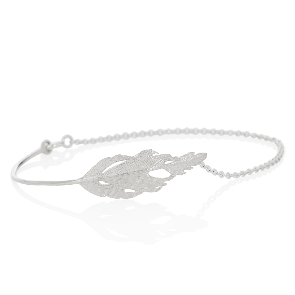 Icelandic sweaters and products - Aurum Silver Falcon Bracelet (Falcon 306) Jewelry - NordicStore