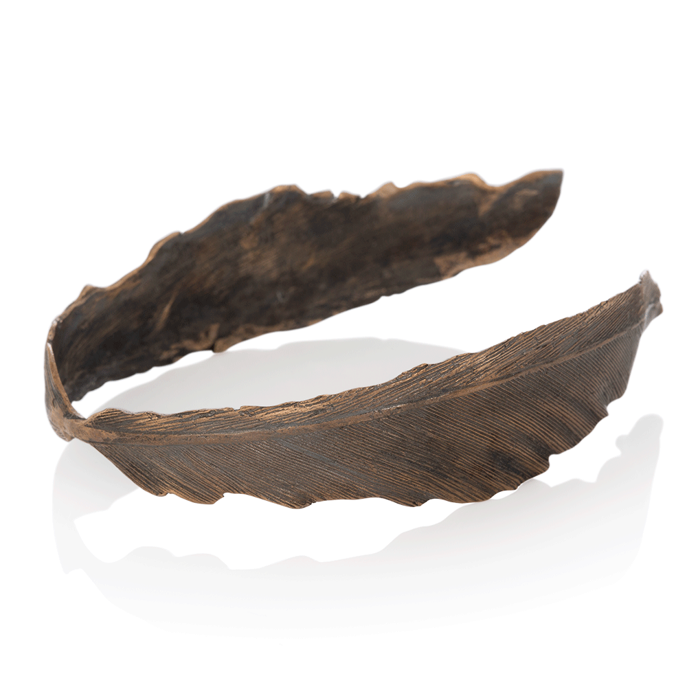 Icelandic sweaters and products - Falcon Bronze Bracelet (Falcon 307 BR) Jewelry - NordicStore