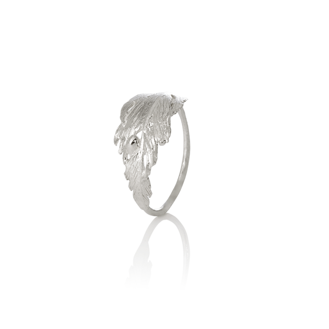 Icelandic sweaters and products - Aurum Falcon Silver Ring (Falcon 402) Jewelry - NordicStore