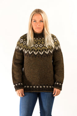 Icelandic sweaters and products - Fisherman Wool Pullover Wool Sweaters - NordicStore