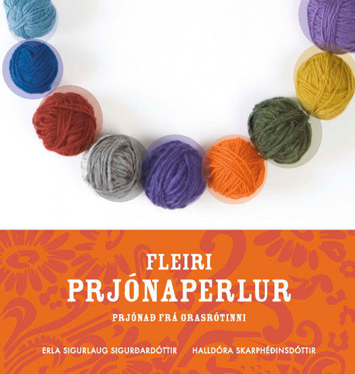 Icelandic sweaters and products - Fleiri Prjónaperlur Book - NordicStore