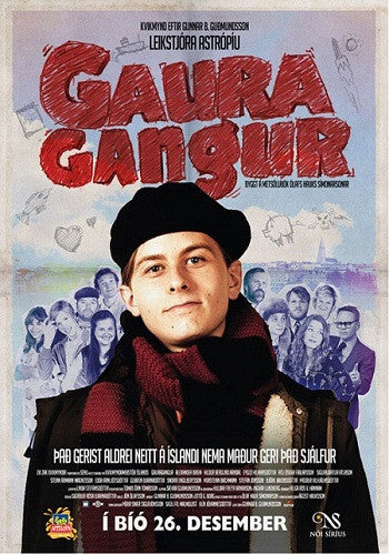 Icelandic sweaters and products - Gauragangur - Hullaballoo (DVD) DVD - NordicStore