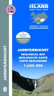 Icelandic sweaters and products - Geological Map Iceland - 1:600.000 Maps - NordicStore