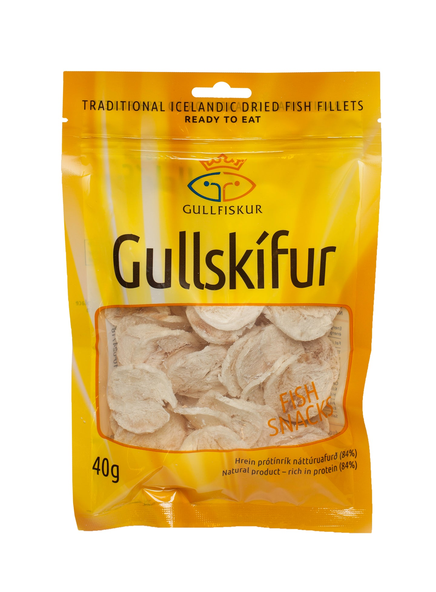 Icelandic sweaters and products - Gullskífur 40gr Food - NordicStore