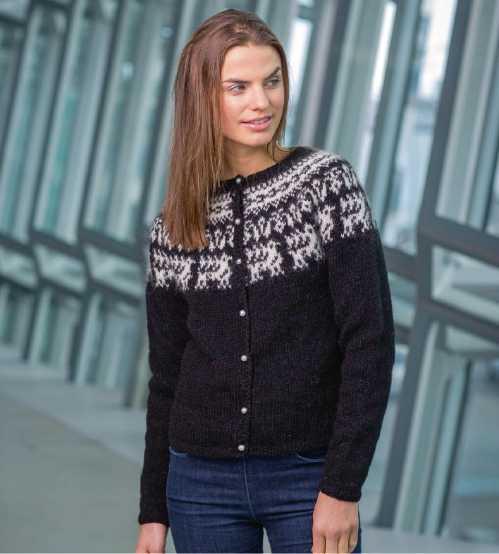 Icelandic sweaters and products - Hind Women Wool Cardigan  - NordicStore