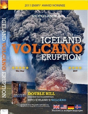 Icelandic sweaters and products - Iceland Volcano Eruption & Into Iceland's Volcano (DVD) DVD - NordicStore